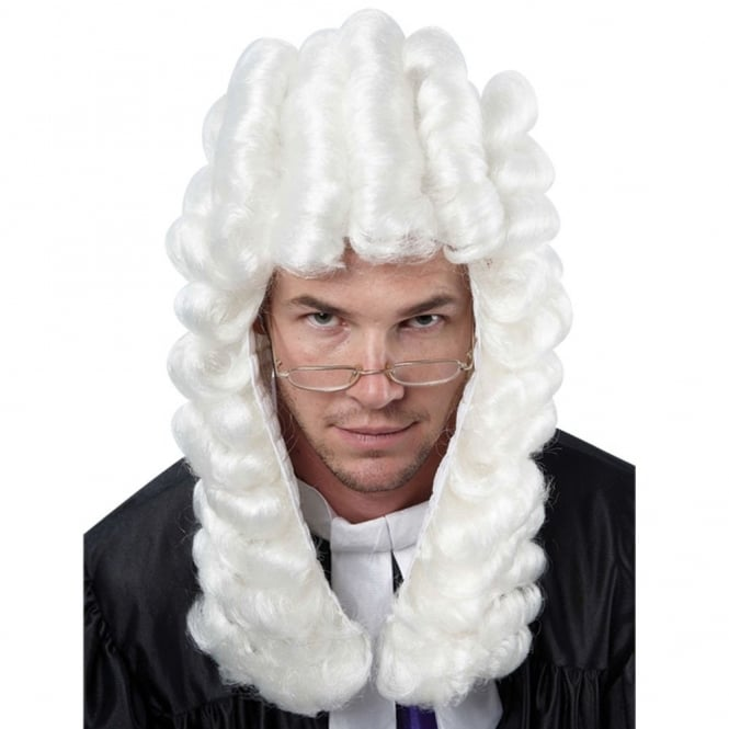 High Court Judge Wig - Adult Accessory