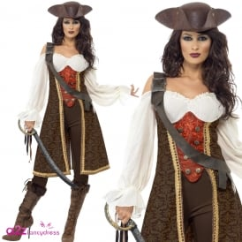High Seas Pirate Wench - Deluxe Adult Costume