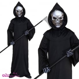 Holographic Grim Reaper - Kids Costume
