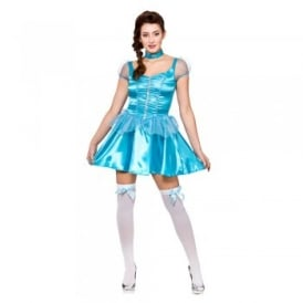 Ice Blue Princess (Short) - Adult Costume