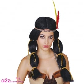 Indian Princess Wig - Adult Accessory