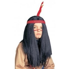 Indian Wig (Boys) - Kids Accessory