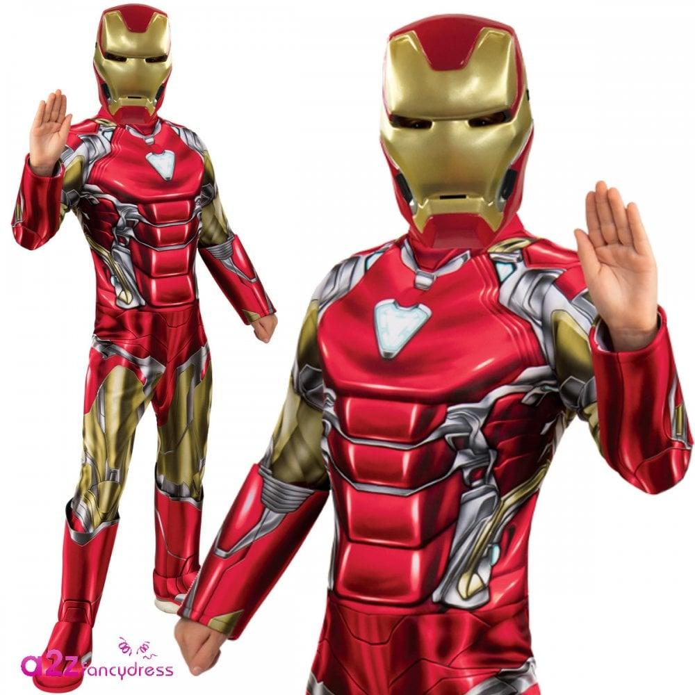 ~ Iron Man Deluxe 2019 AVENGERS ENDGAME - Kids Costume