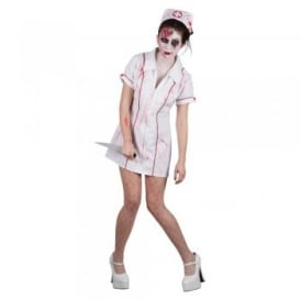 Killer Zombie Nurse - Adult Costume