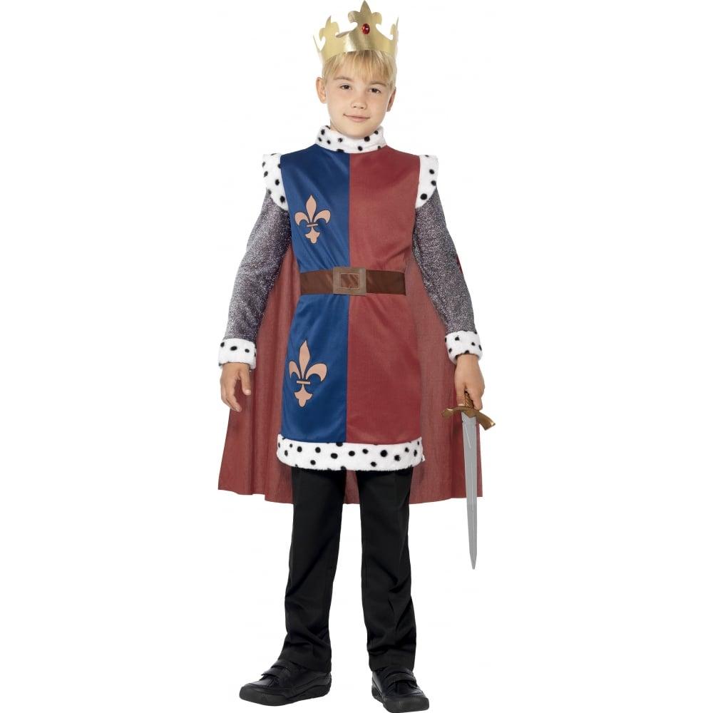 King Arthur Medieval - Kids Costume  sc 1 st  a2z Fancy Dress & King Arthur Medieval - Kids Costume - Kids Costumes from A2Z Fancy ...
