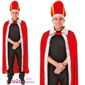 King Robe & Hat - Adult Costume