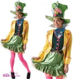 Lady Mad Hatter - Adult Costume