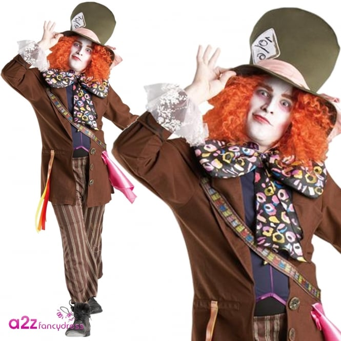 ALICE IN WONDERLAND ~ Mad Hatter - Adult Costume