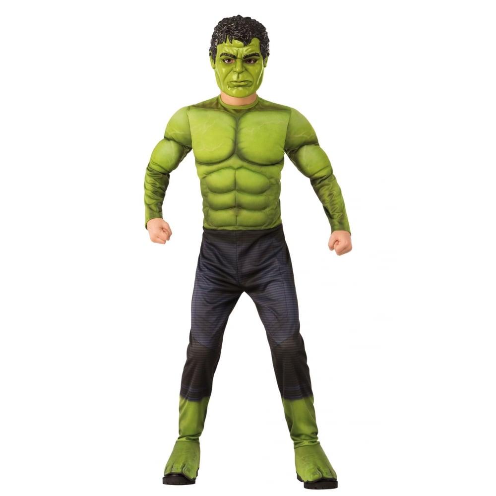 hulk deluxe new 2018 avengers infinity war kids costume