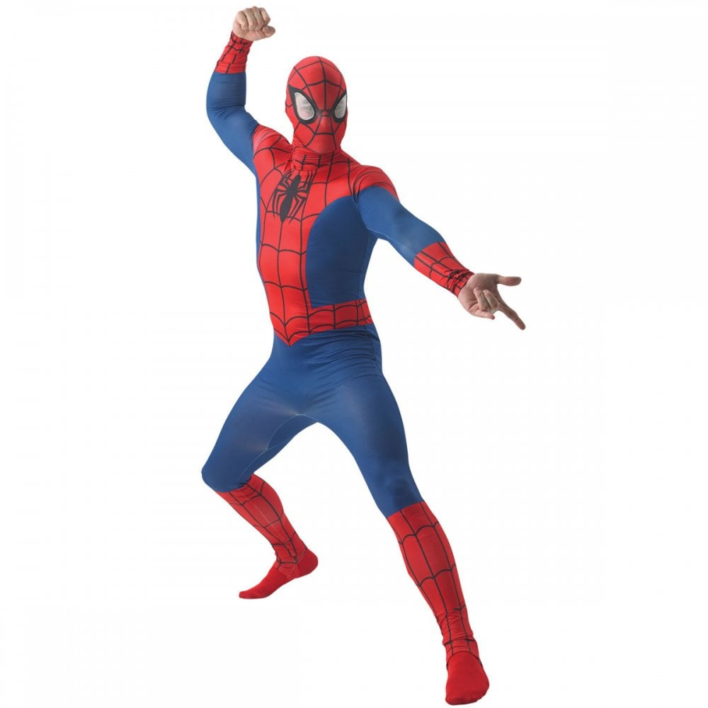 Words... super, adult costume man spider think, that you