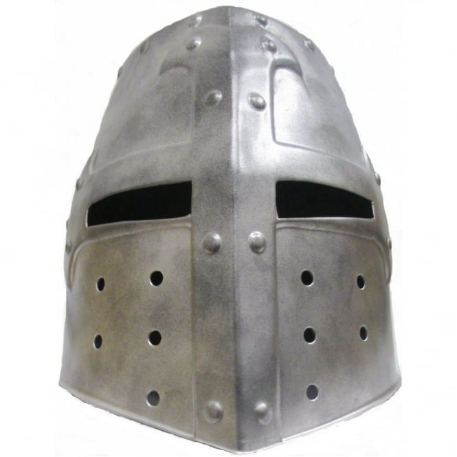Medieval Crusader Knight Helmet - Kids Accessory
