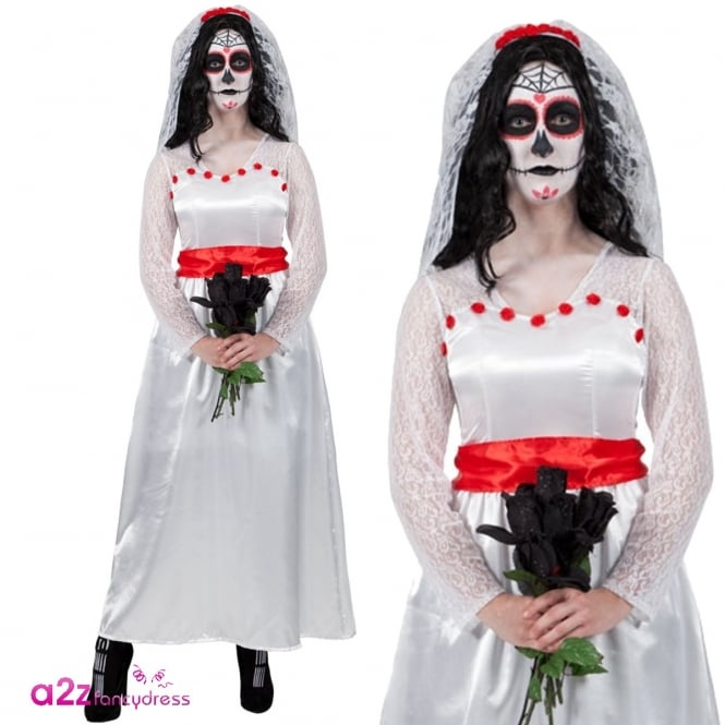 Mexican Bride Of the Dead - Adult Costume