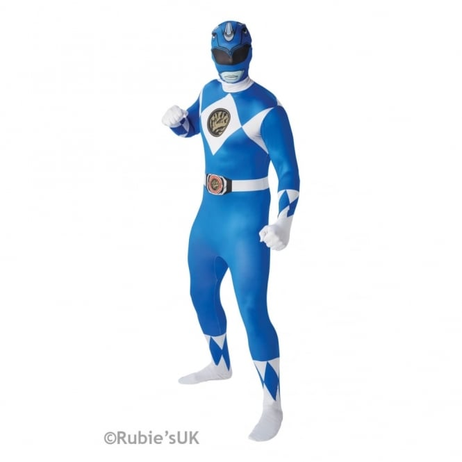 POWER RANGERS ~ Mighty Morphin Blue Ranger - Adult 2nd Skin Costume