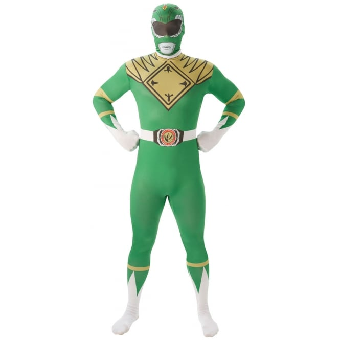 POWER RANGERS ~ Mighty Morphin Green Ranger - Adult 2nd Skin Costume