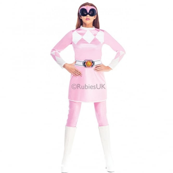 POWER RANGERS ~ Mighty Morphin Pink Power Ranger - Adult Costume