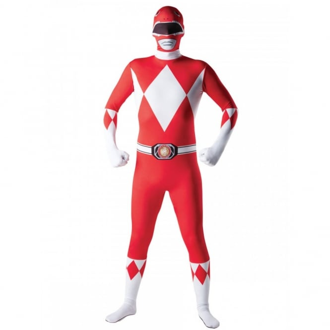 POWER RANGERS ~ Mighty Morphin Red Ranger - Adult 2nd Skin Costume