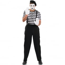 Mime Artist - Adult Costume