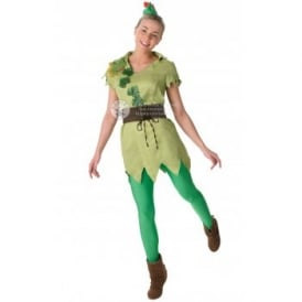 ~ Miss Peter Pan - Adult Costume