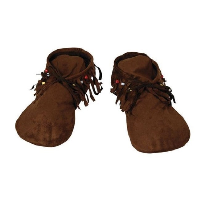 Moccasins (Hippie/Indian) - Ladies Adult Accessory