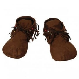 Moccasins (Hippie/Indian) - Mens Adult Accessory