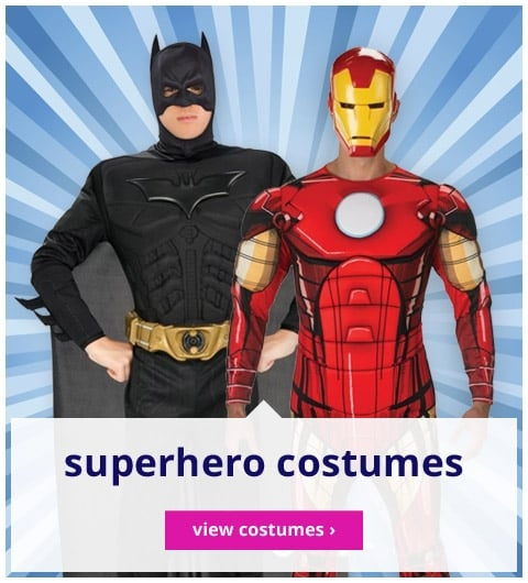 Superhero Costumes - View Costumes