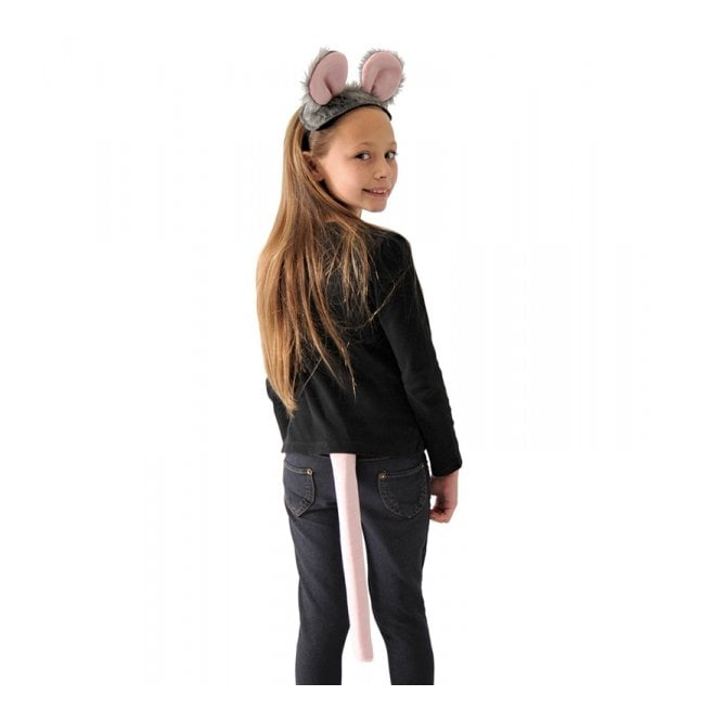 Mouse Top & Tail - Kids Accessory Set