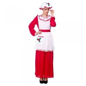 Mrs Santa Claus - Adult Costume