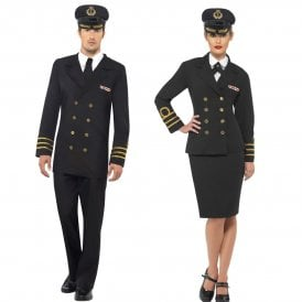 Navy Officer - Couples Costume