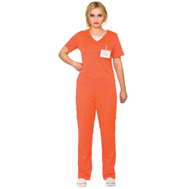 Orange Convict - Ladies Adult Costume