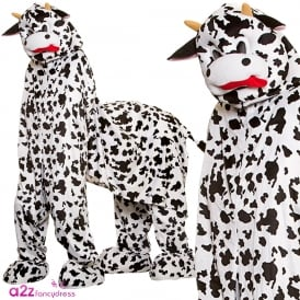 Pantomime Cow (2 person) - Adult Costume