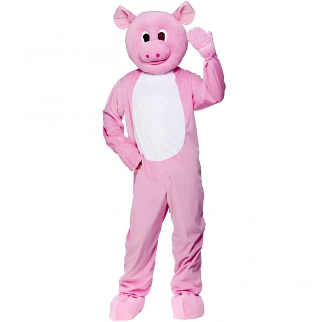 Pink Pig Mascot - Adult Costume - Mens Costumes from A2Z Fancy Dress UK 2affb5bce758