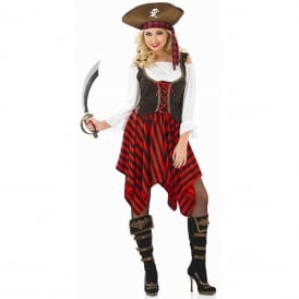 Pirate Girl - Adult Costume