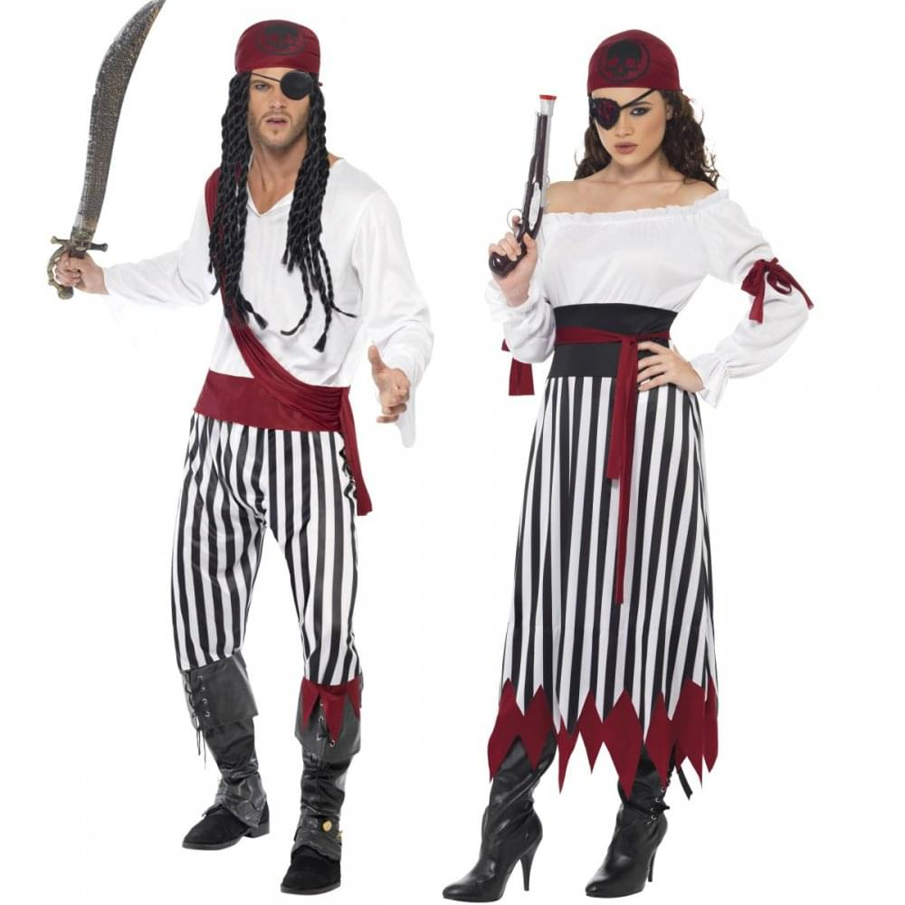 pirate man lady couples costumes