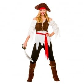 Pirate Shipmate - Adult Ladies Costume