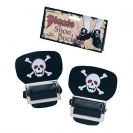 Pirate Shoe Buckles - Kids Accessory