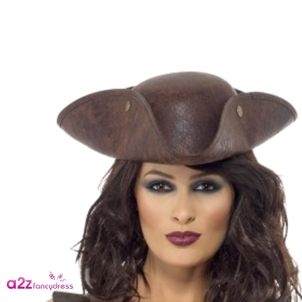 4d6ef08eb10 Pirate Tricorn Hat - Adult Accessory - Accessories from A2Z Fancy Dress UK