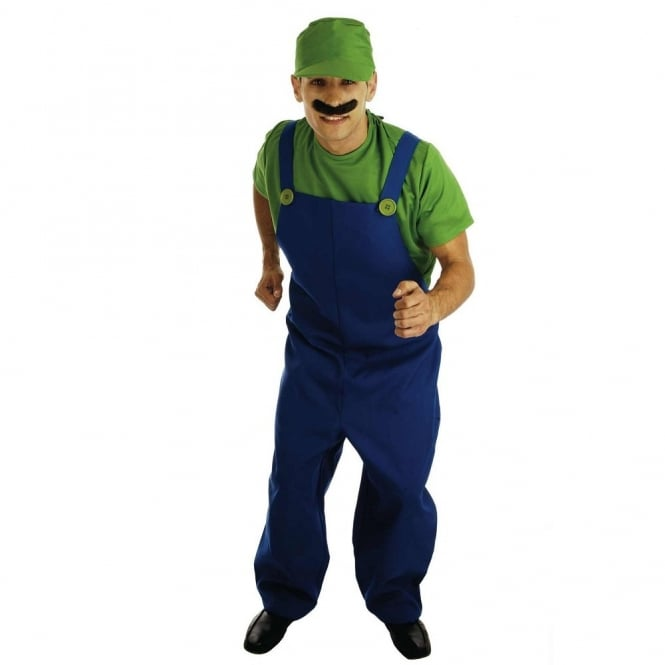 Plumbers Mate (Green) - Adult Costume