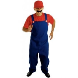 Plumbers Mate (Red) - Adult Costume
