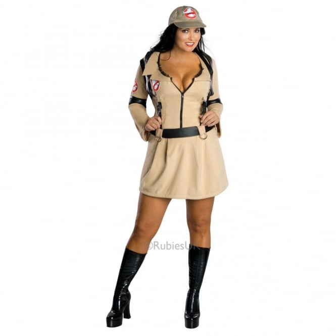 GHOSTBUSTERS ~ Plus Size - Adult Costume