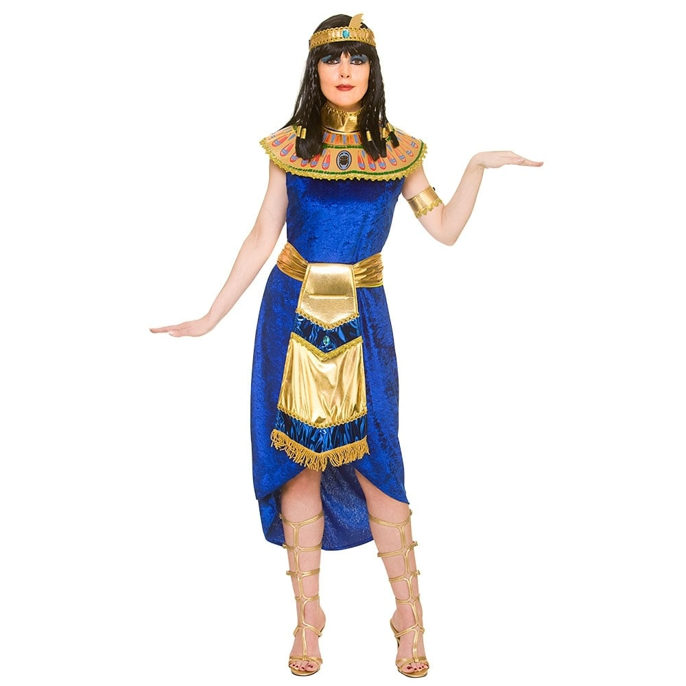 princess cleopatra (blue) - adult costume