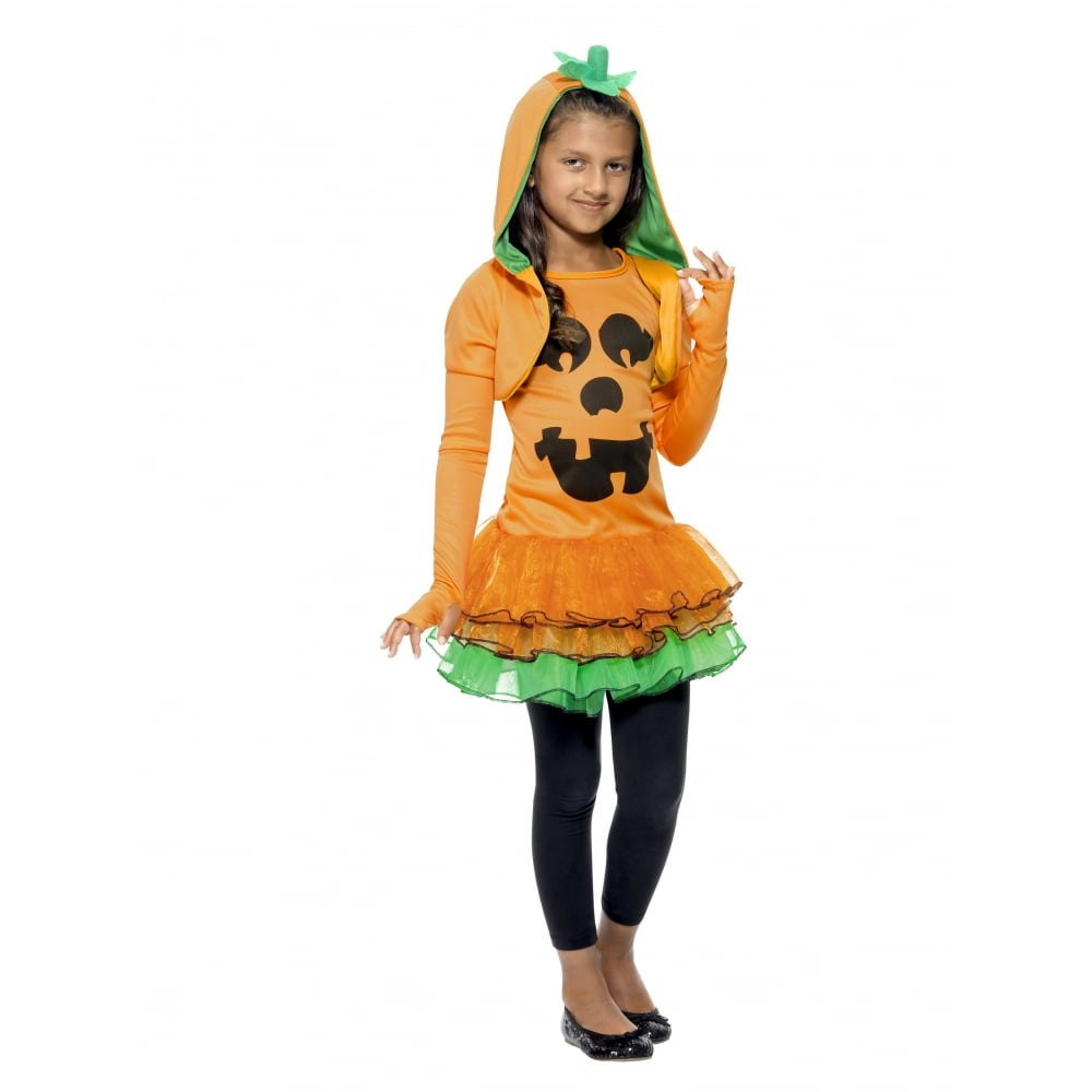 426dbda656 Pumpkin Tutu Dress - Kids Costume Set (Costume, Orange & Black ...