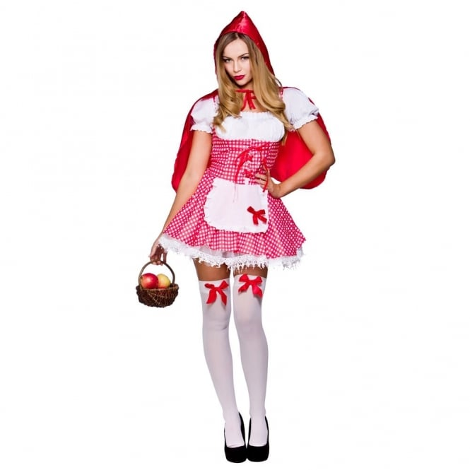 RED RIDING HOOD ~ Raunchy Red Riding Hood - Adult Costume
