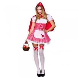 ~ Raunchy Red Riding Hood - Adult Costume
