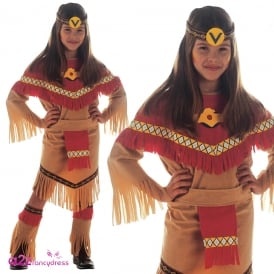 Ray of Moonlight Indian Girl - Kids Costume