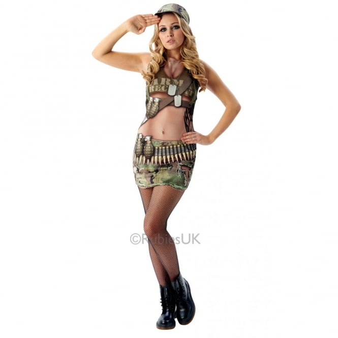 """Real Appeal"" Army Annie - Adult Costume"