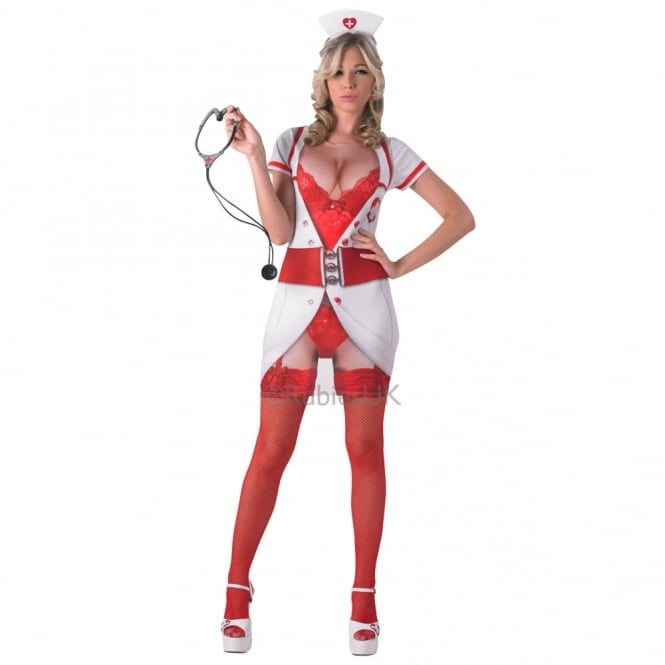 """Real Appeal"" Naughty Nurse - Adult Costume"
