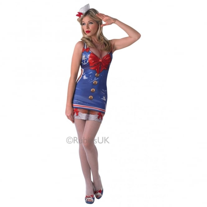 """Real Appeal"" Saucy Sailor - Adult Costume"
