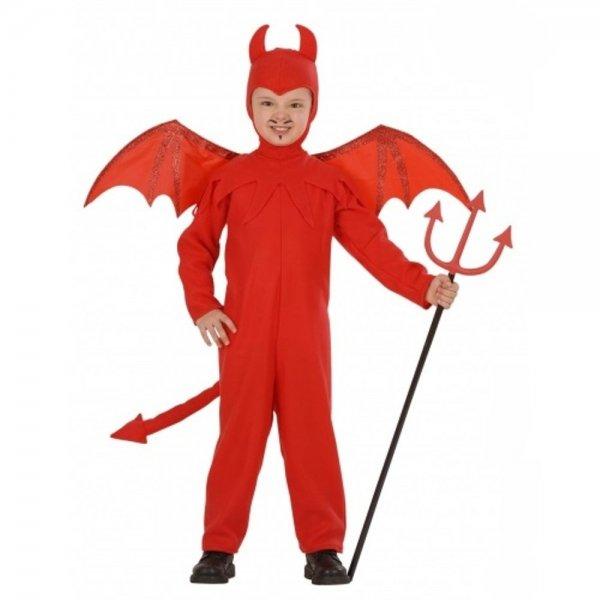 Red Devil Kids Costume