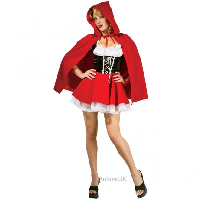 RED RIDING HOOD Red Riding Hood - Adult Costume