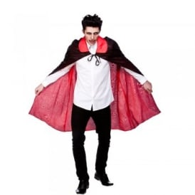 Reversible Satin Cape - Adult Costume